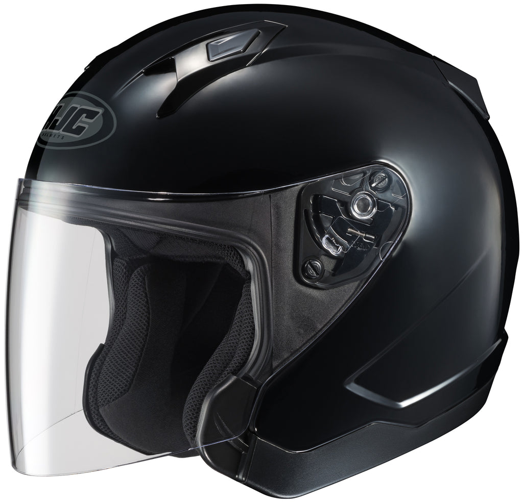 Hjc Cl-jet Open Face Helmet Black
