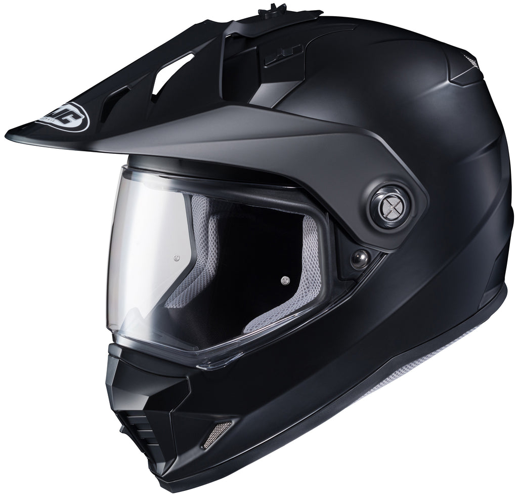 Hjc Ds-x1 Semi-flat Mt. Full Face Helmet Black