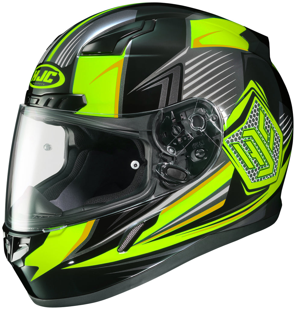 Hjc Cl-17 Striker Mc-3h Full Face Helmet