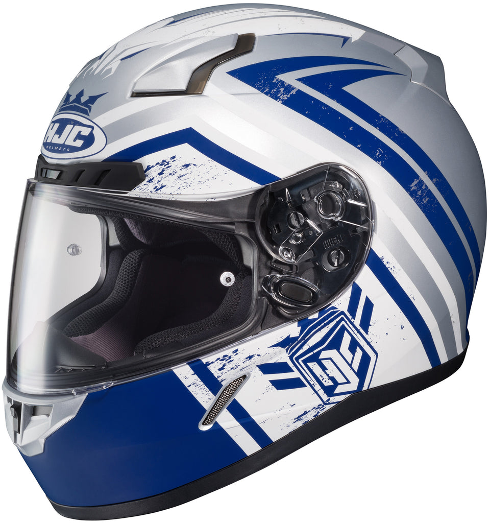 Hjc Cl-17 Mech Hunter Mc-2f Full Face Helmet