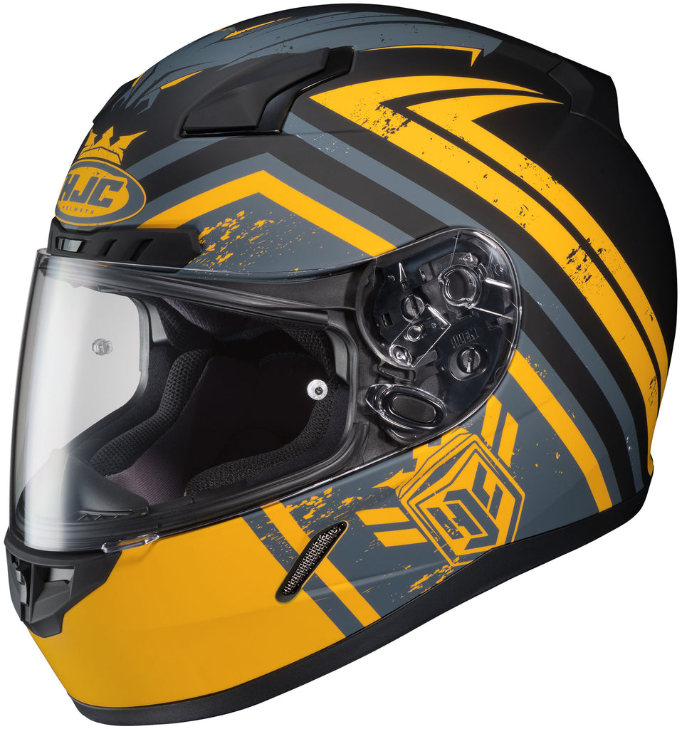 Hjc Cl-17 Mech Hunter Mc-3f Full Face Helmet