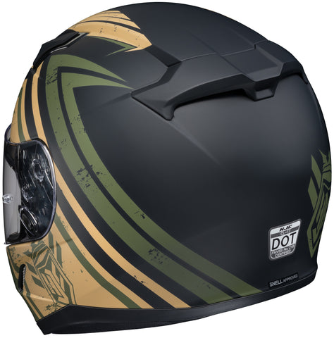 Hjc Cl-17 Mech Hunter Mc-4f Full Face Helmet