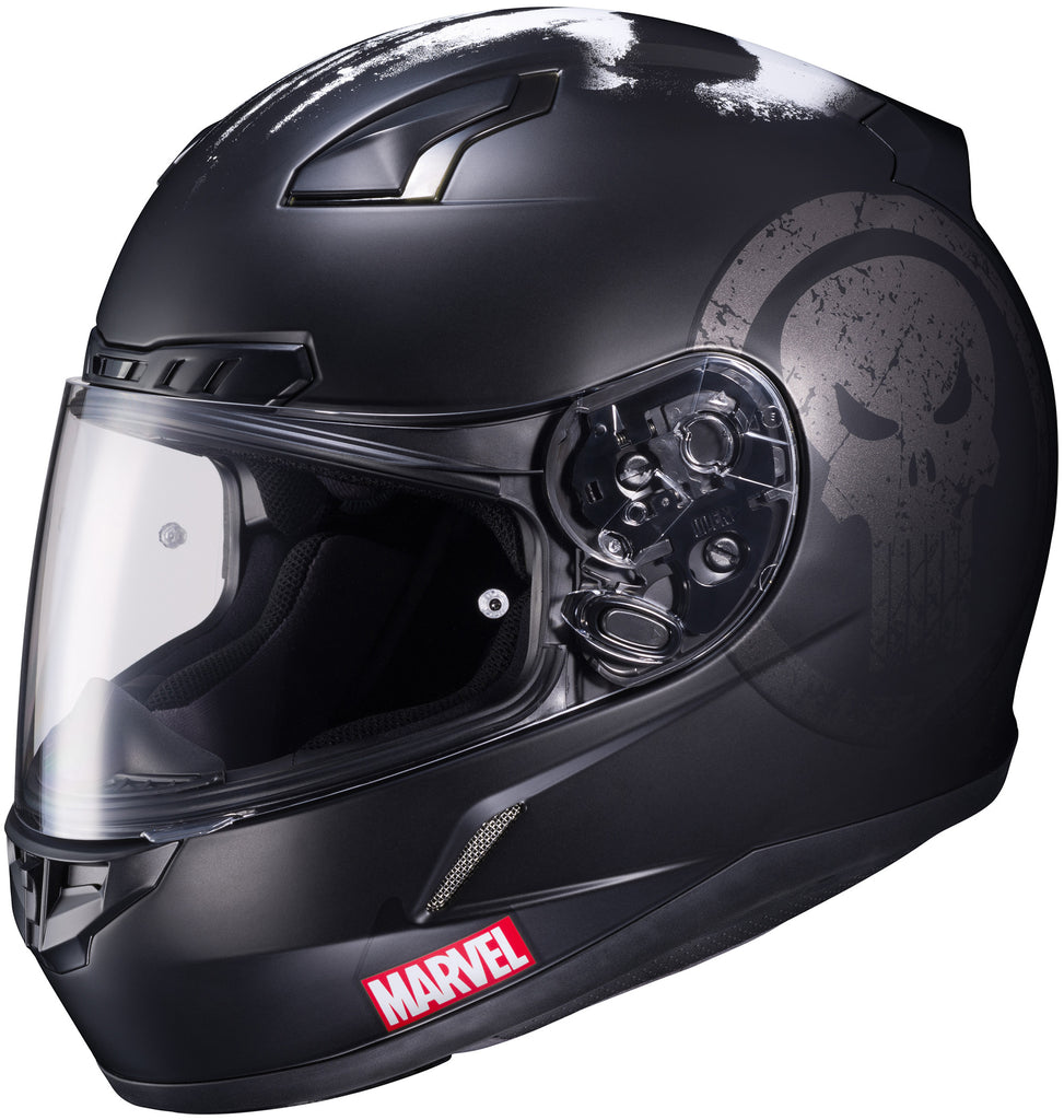 Hjc Cl-17 Marvel Punisher Full Face Helmet