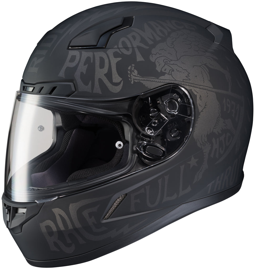 Hjc Cl-17 Rebel Mc-5f Full Face Helmet