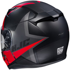 Hjc Cl-17 Boost Mc-1sf Full Face Helmet