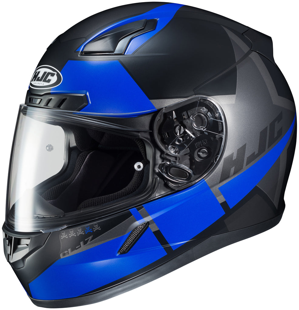 Hjc Cl-17 Boost Mc-2sf Full Face Helmet