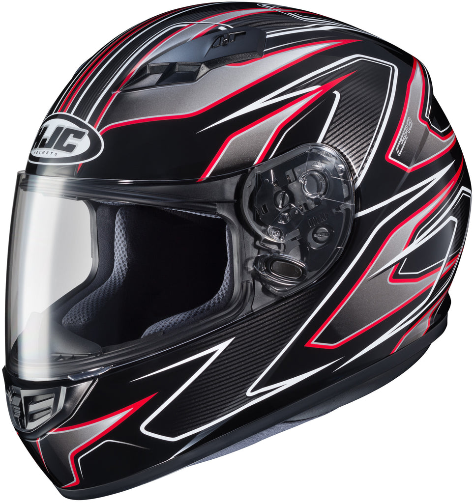 Hjc Cs-r3 Spike Mc-1 Full Face Helmet Mc1