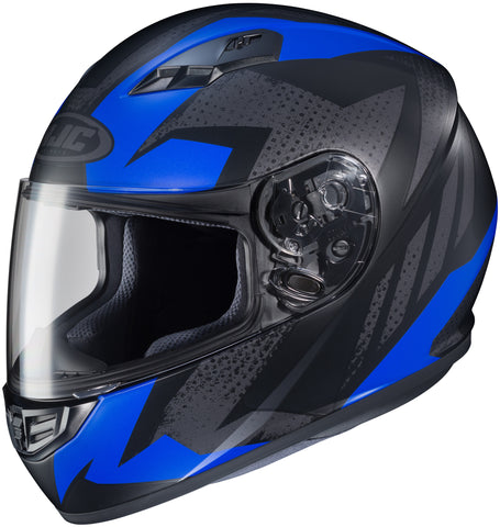 Hjc Cs-r3 Treague Mc-2f Full Face Helmet