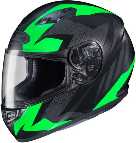Hjc Cs-r3 Treague Mc-4f Full Face Helmet