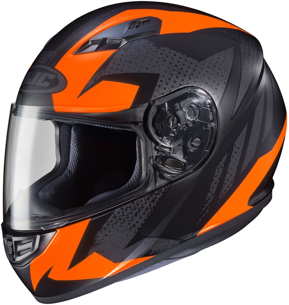 Hjc Cs-r3 Treague Mc-6hf Full Face Helmet