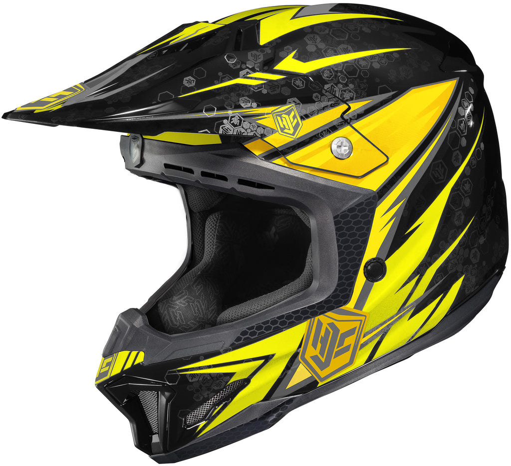 Hjc Cl-x7 Pop-n-lock Mc-3 Off Road Helmet Mc3