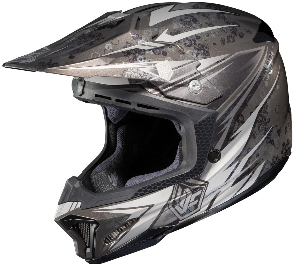 Hjc Cl-x7+ Pop-n-lock Mc-5 Off Road Helmet Mc5