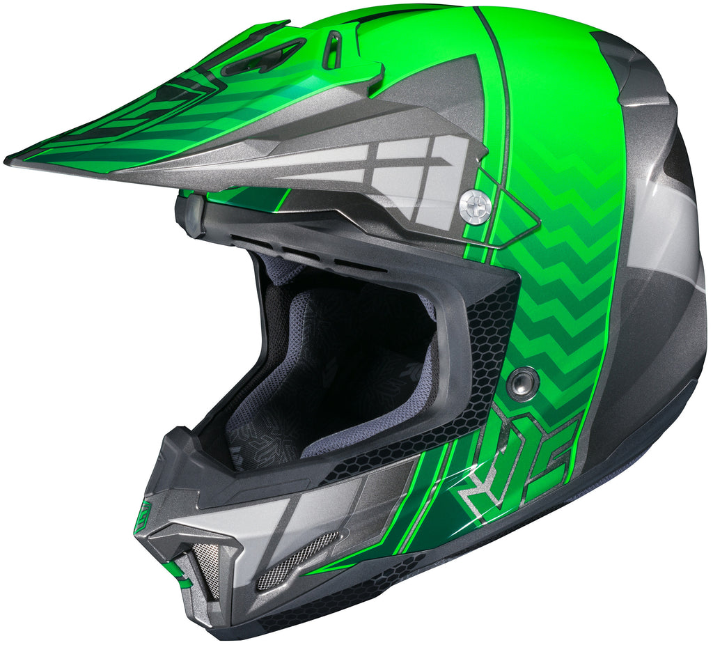 Hjc Cl-x7+ Cross Up Mc-4 Off Road Helmet Mc4