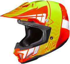Hjc Cl-x7 Cross Up Mc-6 Off Road Helmet Mc6