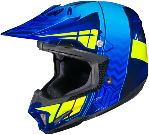 Hjc Cl-x7 Cross Up Mc-2h Off Road Helmet
