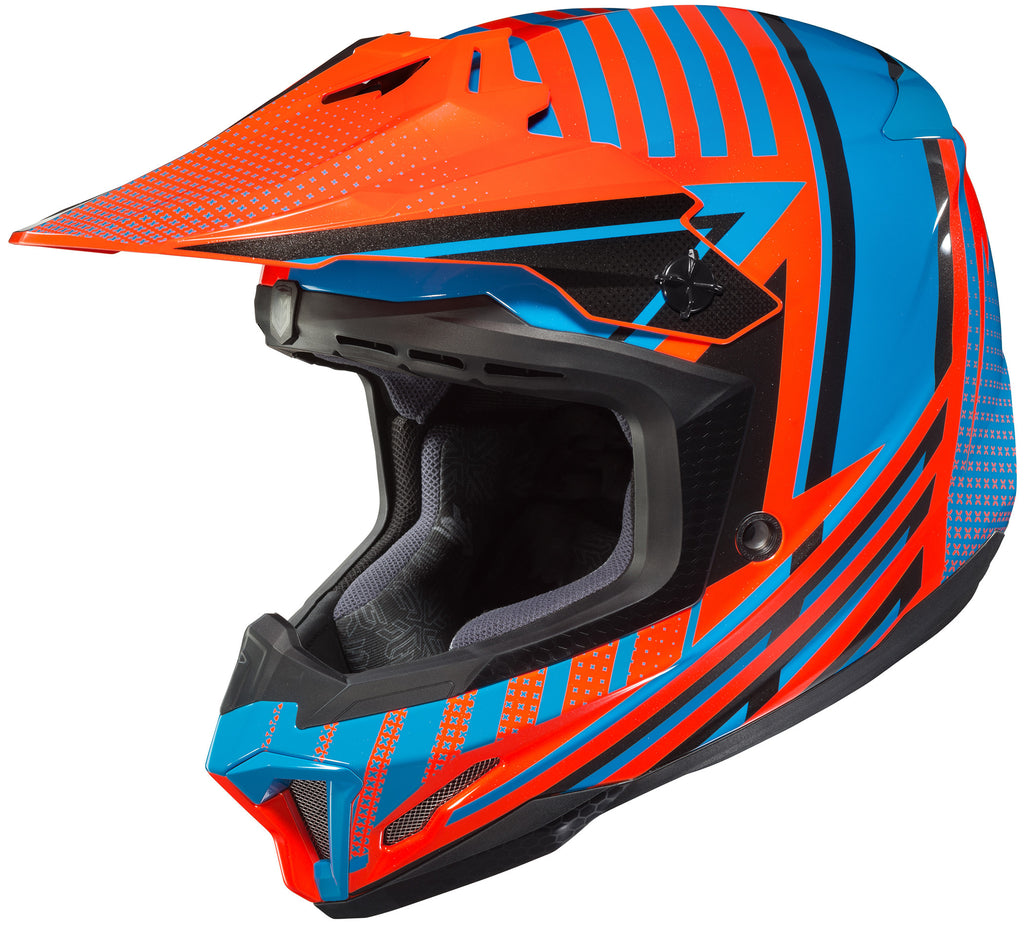 Hjc Cl-x7+ Hero Mc-26 Off Road Helmet
