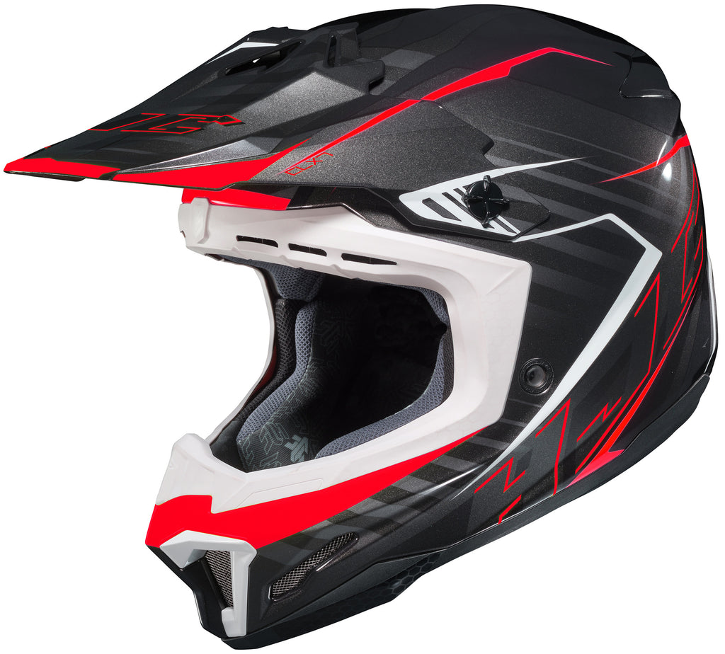 Hjc Cl-x7+ Blaze Mc-1 Off Road Helmet Mc1