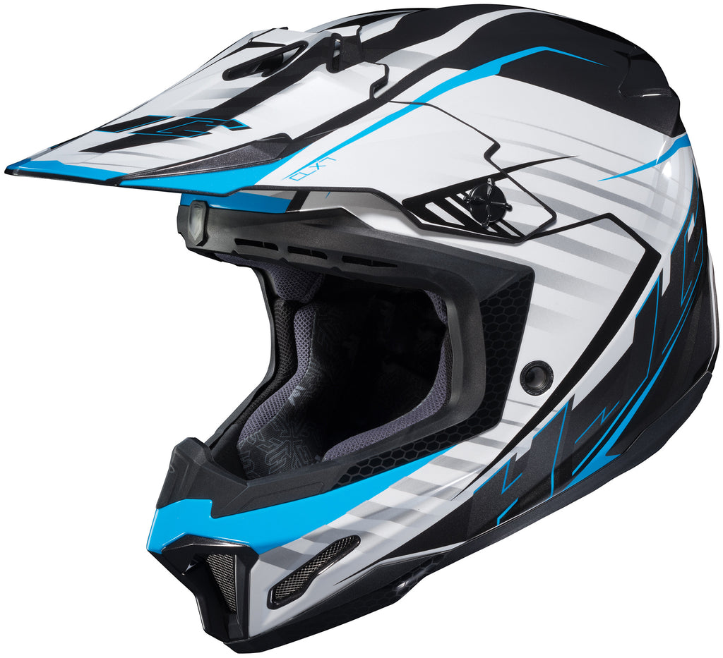 Hjc Cl-x7+ Blaze Mc-2 Off Road Helmet Mc2