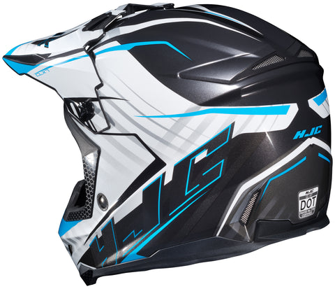 Hjc Cl-x7 Blaze Mc-2 Off Road Helmet Mc2