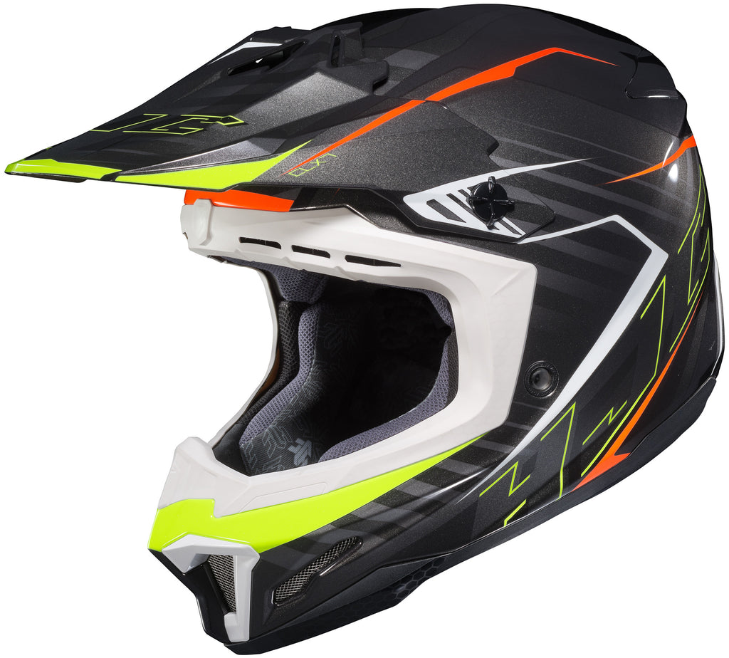 Hjc Cl-x7+ Blaze Mc-5 Off Road Helmet Mc5
