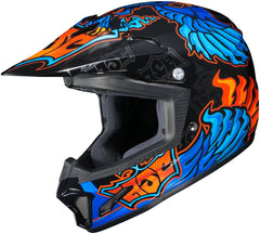 Hjc Cl-xy 2 Eye Fly Mc-2 Off Road Helmet Mc2