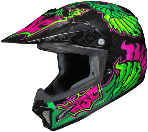 Hjc Cl-xy 2 Eye Fly Mc-4 Off Road Helmet Mc4