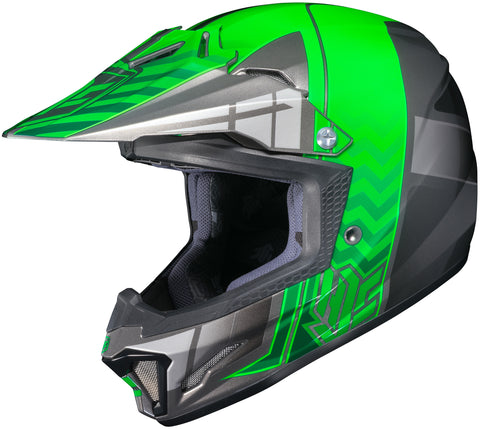 Hjc Cl-xy 2 Cross Up Mc-4 Off Road Helmet Mc4