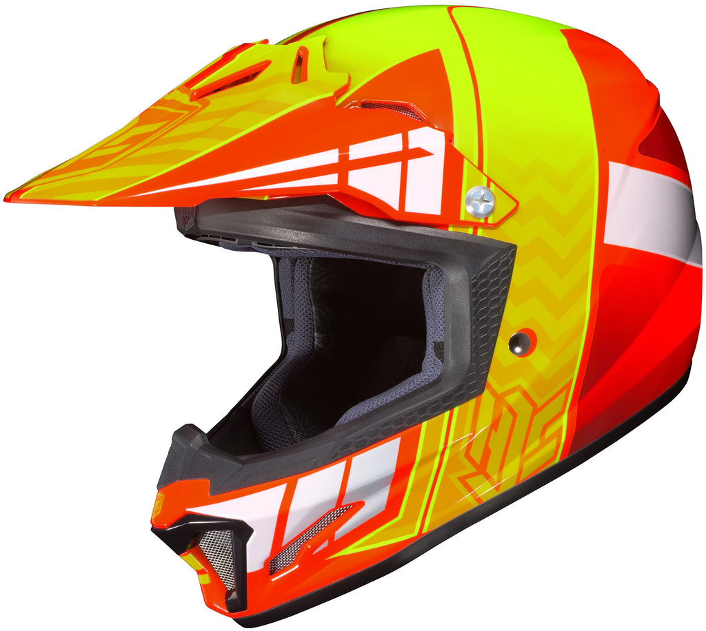 Hjc Cl-xy 2 Cross Up Mc-6 Off Road Helmet Mc6