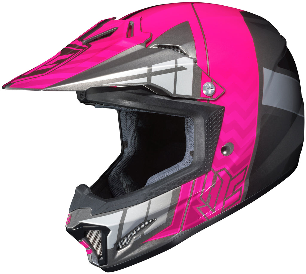 Hjc Cl-xy 2 Cross Up Mc-8 Off Road Helmet Mc8