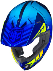 Hjc Cl-xy 2 Cross Up Mc-2h Off Road Helmet