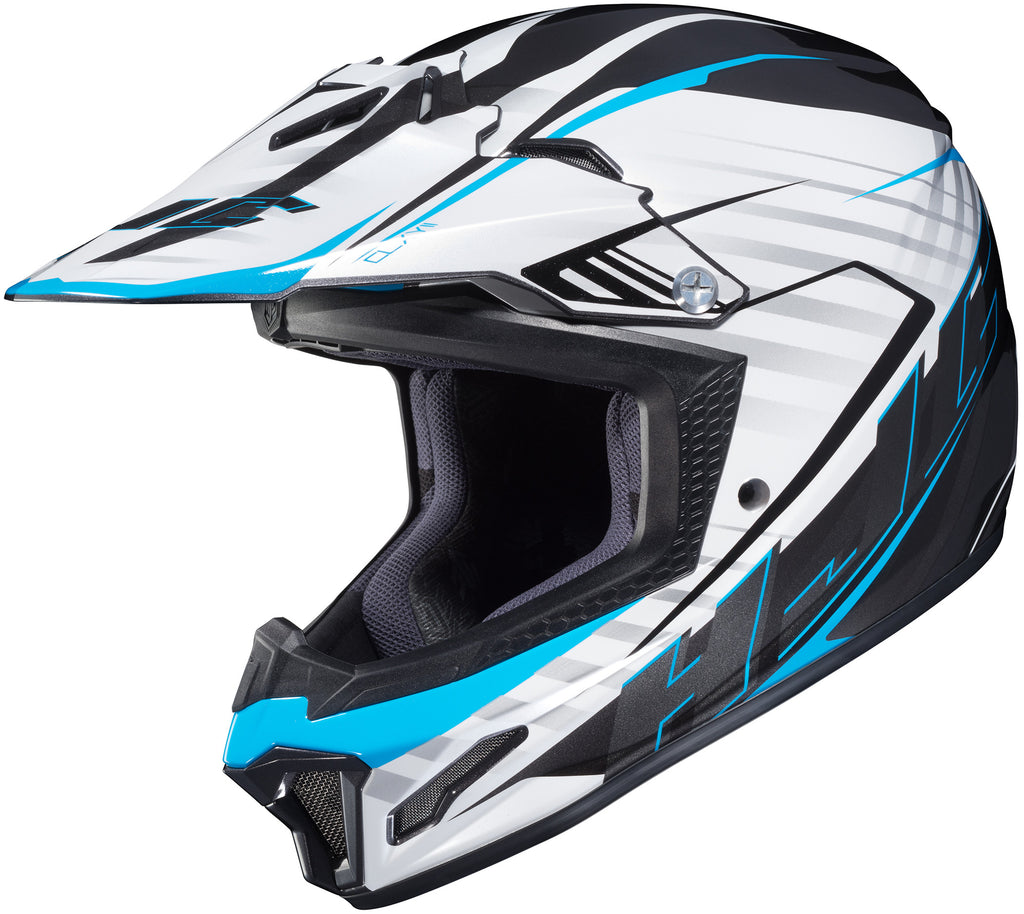 Hjc Cl-xy 2 Blaze Mc-2 Off Road Helmet Mc2