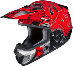 Hjc Cs-mx 2 Graffed Mc-1 Off Road Helmet Mc1