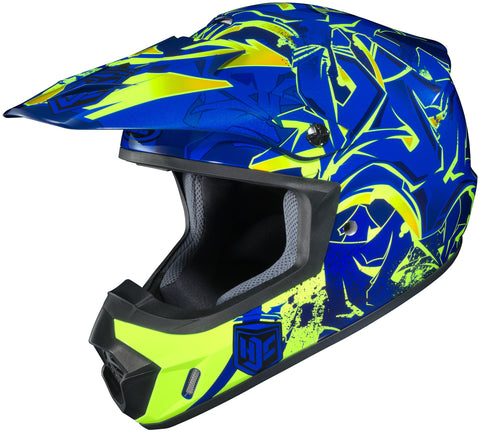 Hjc Cs-mx 2 Graffed Mc-2h Off Road Helmet