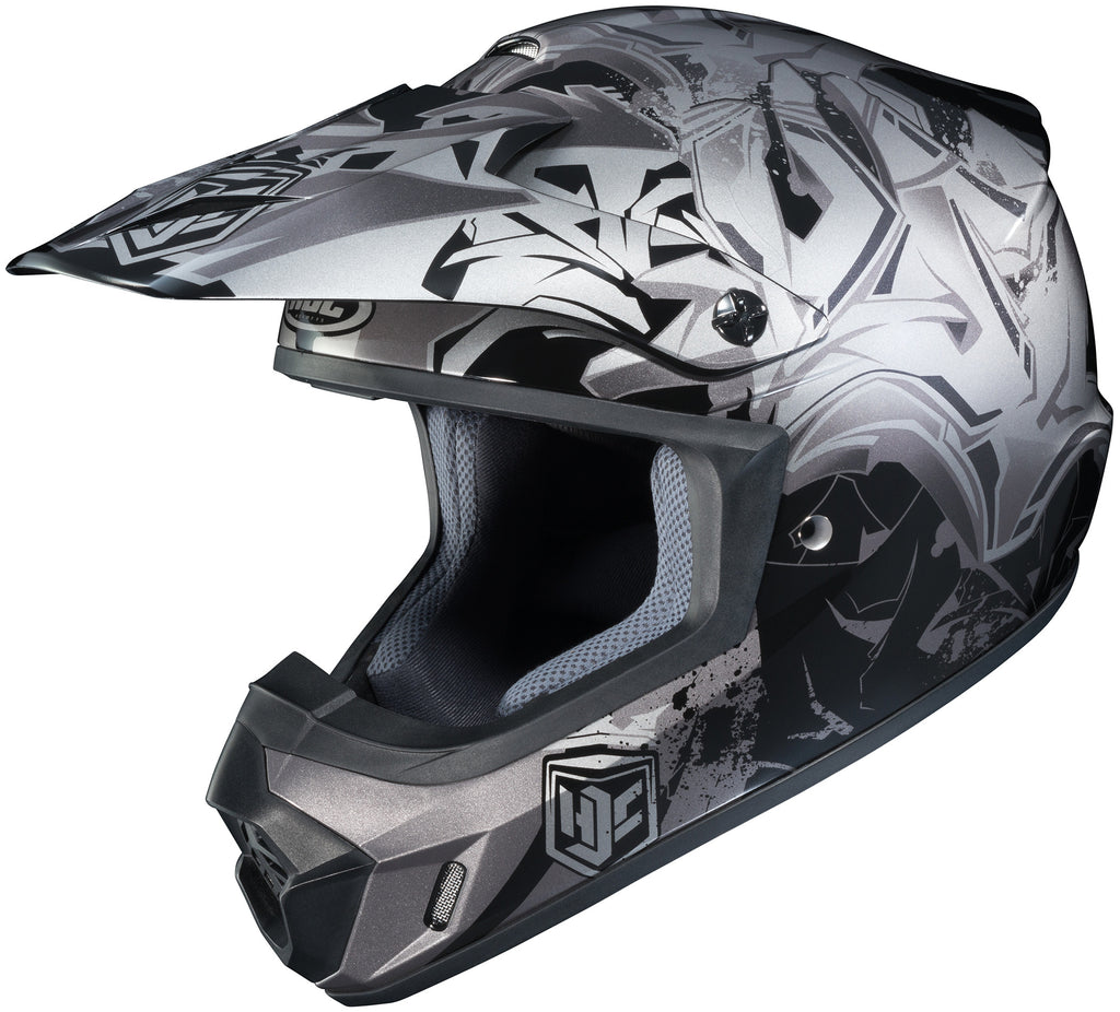 Hjc Cs-mx 2 Graffed Mc-5 Off Road Helmet Mc5