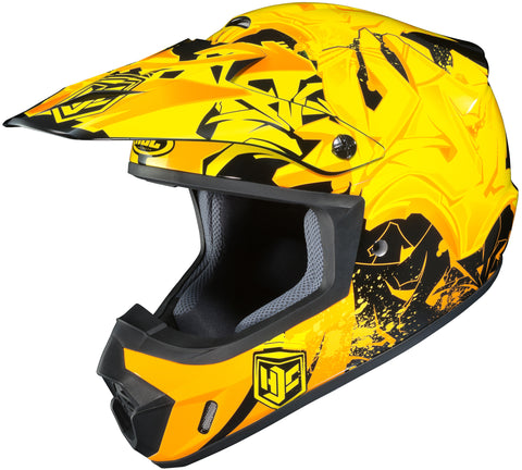 Hjc Cs-mx 2 Graffed Mc-3 Off Road Helmet Mc3