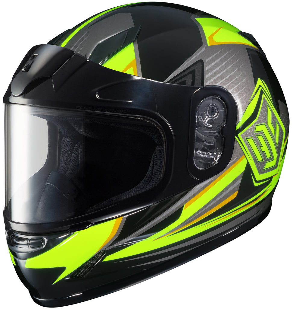 Hjc Cl-y Striker Sno Mc-3h Full Face Helmet