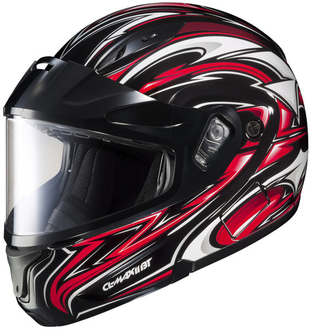 Hjc Cl-max2 Atomic Snow Mc-1 Modular Helmet Mc1