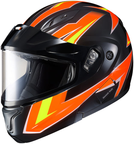 Hjc Cl-max 2 Ridge Sno Mc-6 Modular Helmet Mc6