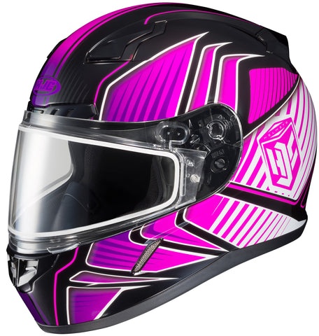 Hjc Cl-17 Redline Snw Full Face Helmet Mc8