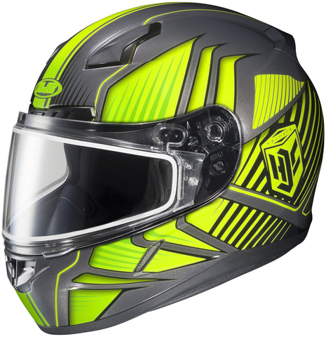 Hjc Cl-17 Redline Snw Mc-3h Full Face Helmet