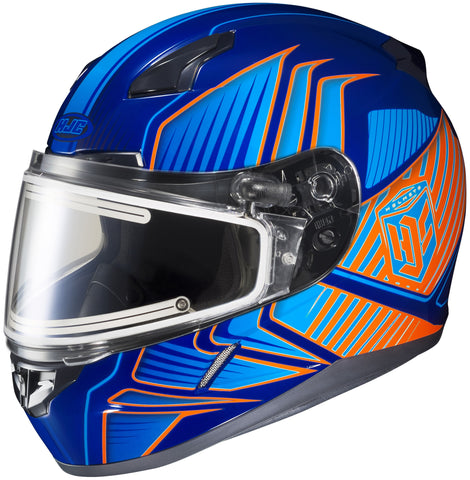Hjc Cl-17 Redline Snw Mc26 Full Face Helmet