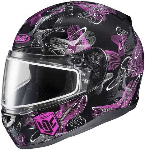 Hjc Cl-17 Mystic Snow Full Face Helmet Mc8