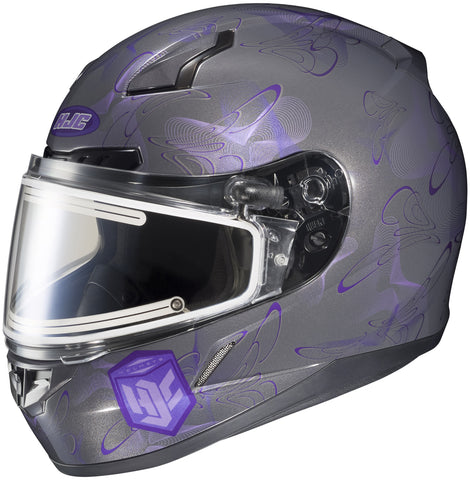 Hjc Cl-17 Mystic Snow Full Face Helmet Mc11