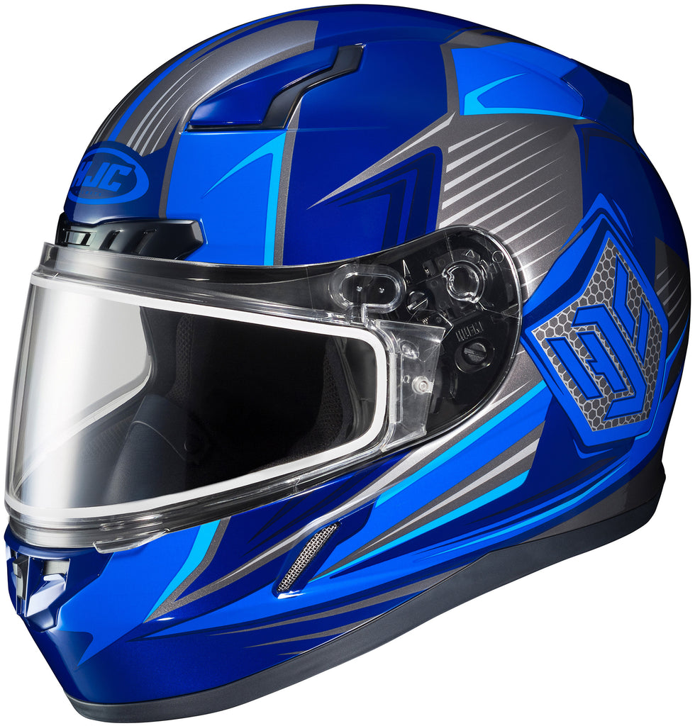 Hjc Cl-17 Striker Snw Mc-2 Full Face Helmet Mc2