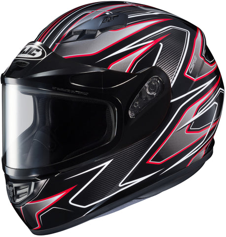 Hjc Cs-r3 Spike Snow Full Face Helmet Mc1