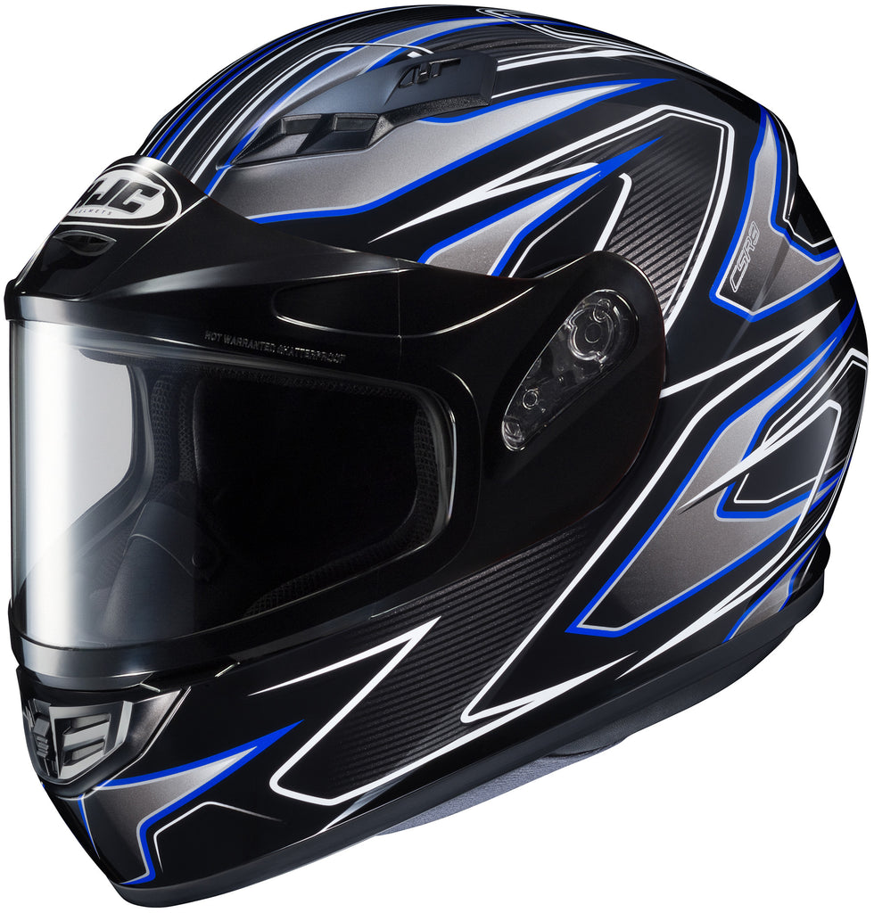Hjc Cs-r3 Spike Snow Full Face Helmet Mc2