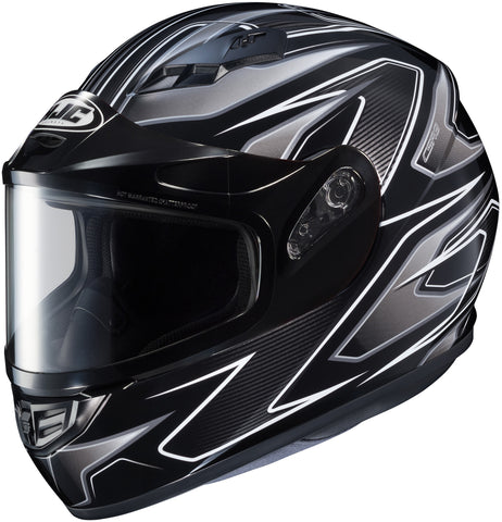Hjc Cs-r3 Spike Snow Full Face Helmet Mc5