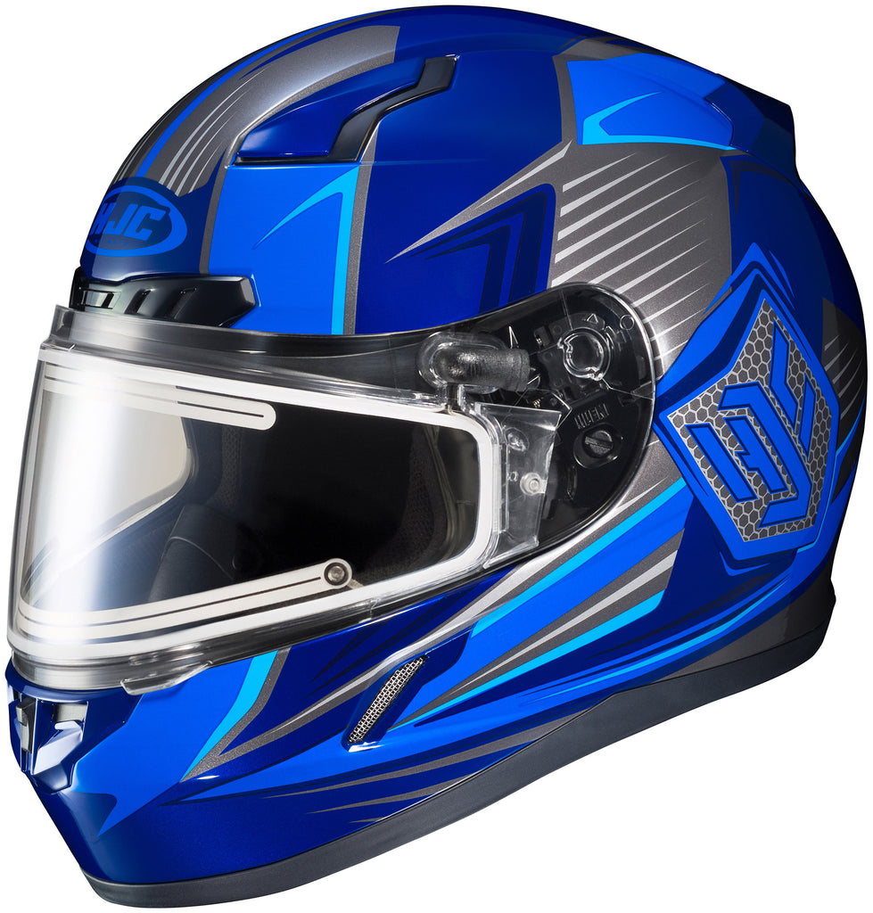 Hjc Cl-17 Striker Elec Mc-2 Full Face Helmet Mc2