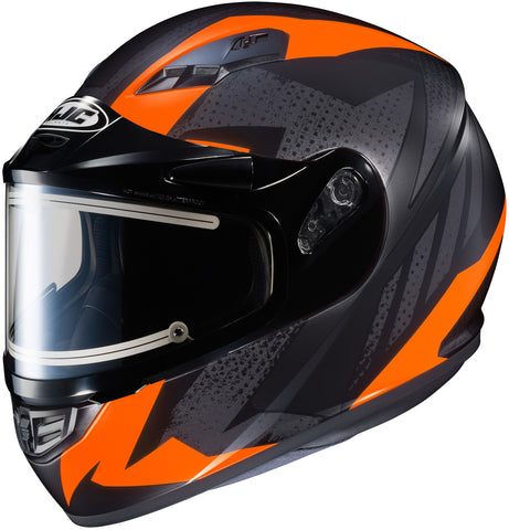 Hjc Cs-r3 Treague Elec Mc6hf Full Face Helmet