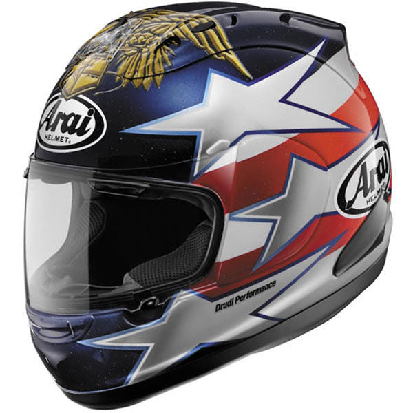 Arai Corsair V Edwards Patriot Helmet - HelmetOnline  - 1